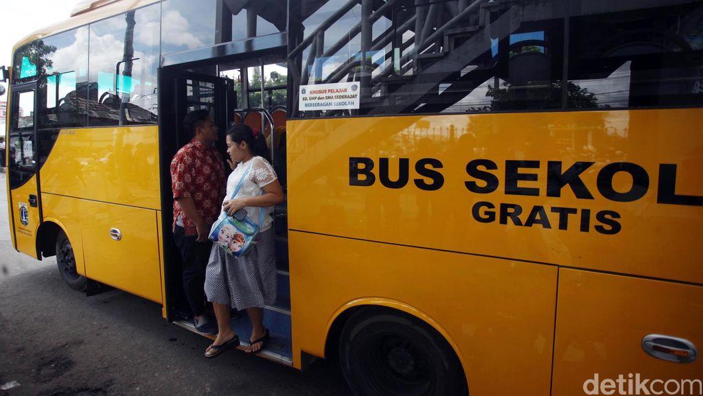Dishubtrans DKI: Bus Sekolah Diperbantukan Sampai Hari Ini