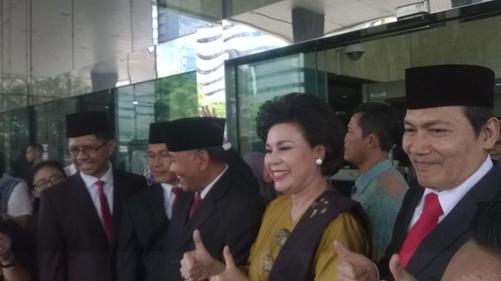 Pimpinan KPK Dicecar Komisi III DPR Soal Penggeledahan Bawa Brimob