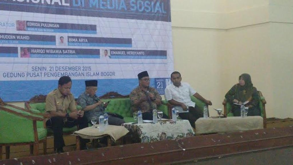 Wali Kota Bogor: Media Sosial Selamatkan Saya dari Kultur ABS