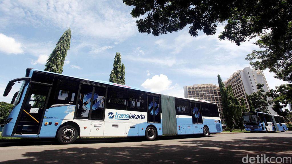 Penumpang Naik Drastis, TransJ Cibubur-Grogol Tambah Bus di Pagi Hari