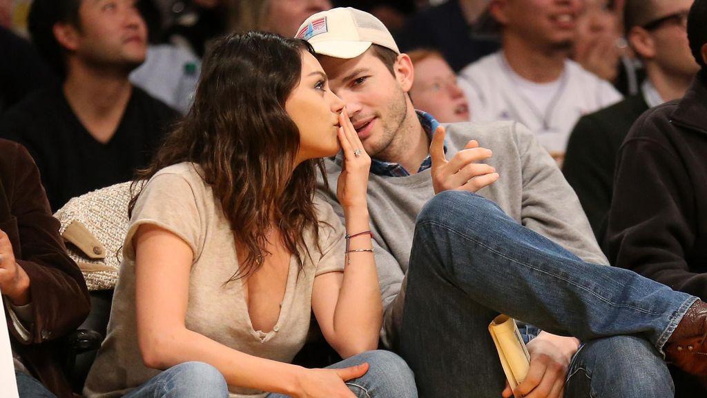 Ashton Kutcher Akhirnya Bicara Soal Pernikahan Rahasia dengan Mila Kunis