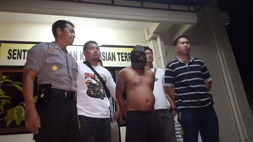 Tim Gabungan Tangkap Pria Diduga Pelaku Bentrok Ormas di Denpasar