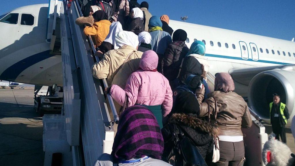 Sepanjang 2015, KBRI Damaskus Pulangkan 606 TKW dari Suriah