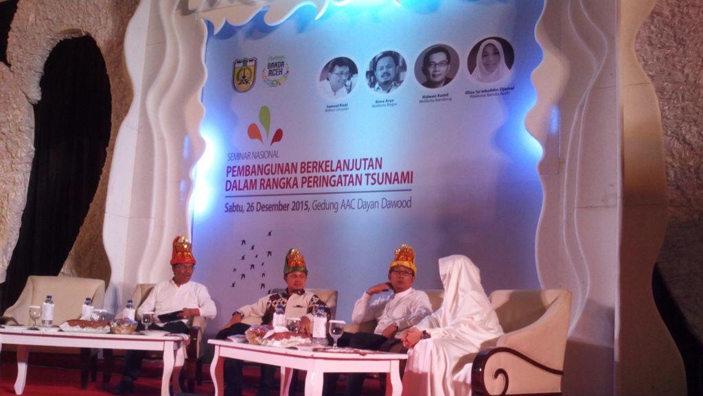 Cerita Ridwan Kamil Desain Museum Tsunami Aceh dengan Tumpahan Air Mata
