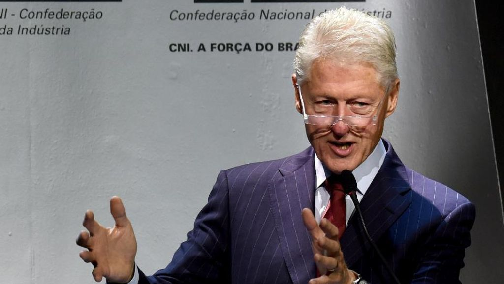 Tempat Lahir Bill Clinton Diduga Dibakar Orang