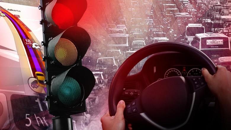 550da446 f719 4f4b 8c97 bf0800c7454a 169 » Hujan, Tol Cikunir Arah Jakarta Tersendat Hingga 19 Km