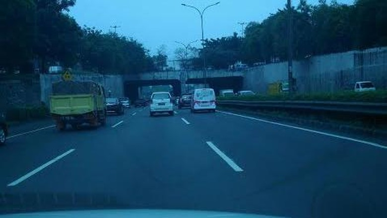 Andai Lalu Lintas di Jakarta Setiap Pagi Seperti ini, Lancar Jaya