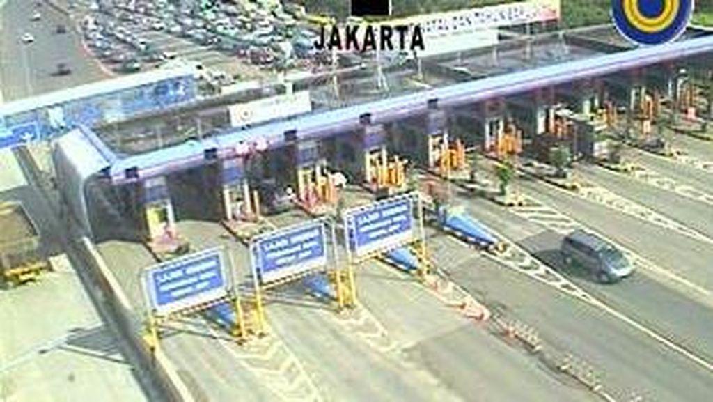Tol Jagorawi Arah Puncak Lancar Jaya, GT Ciawi Tak Ada Antrean