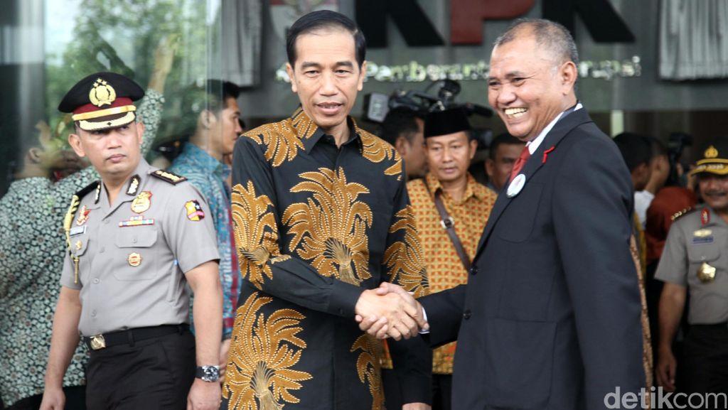 Indeks Persepsi Korupsi RI Membaik, Jokowi: Indonesia Harus Bebas Korupsi!
