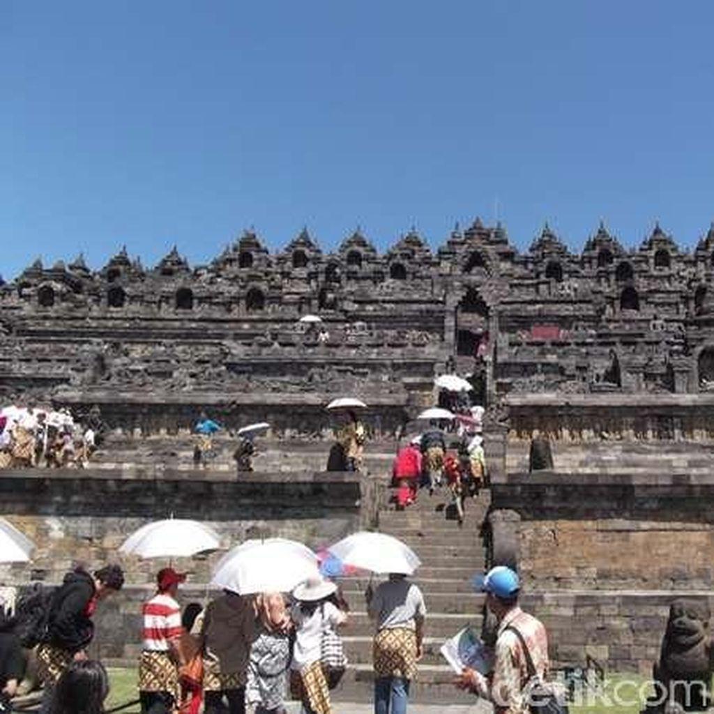 Jaga Fasilitas Borobudur, Ini Imbauan Pengelola Pada Pengunjung
