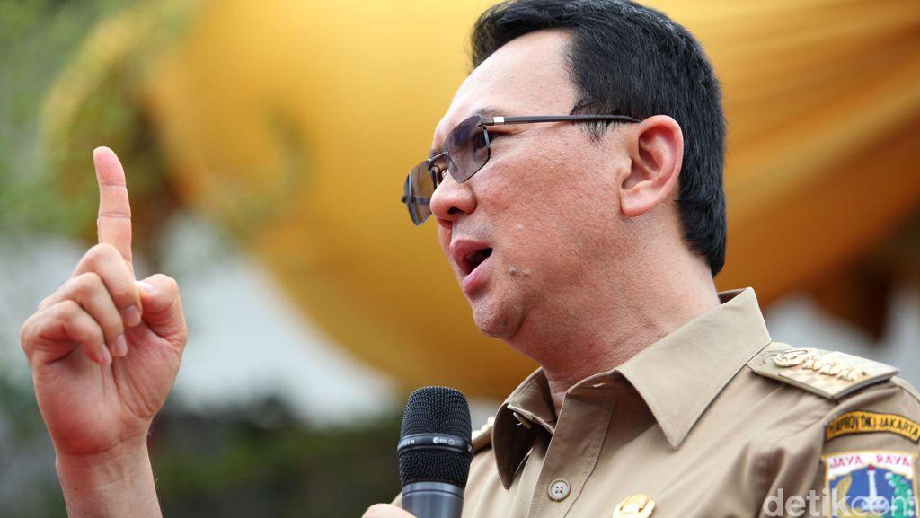 Ahok Duga Ada Sabotase Mematikan Pompa Air Waduk Pluit