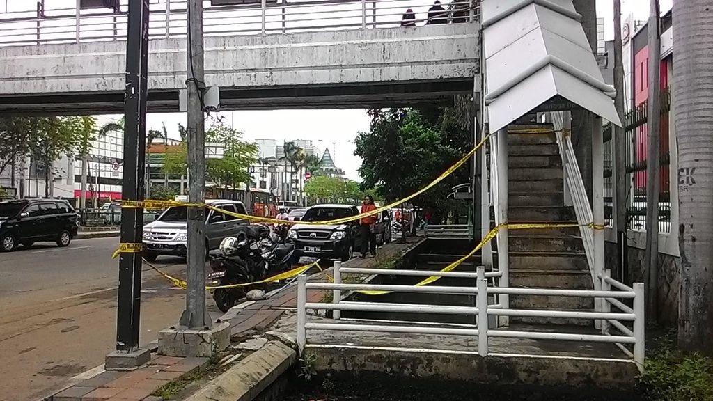 Penampakan Jembatan Busway Tempat 2 Karyawan TransJ Tewas Tersengat Listrik