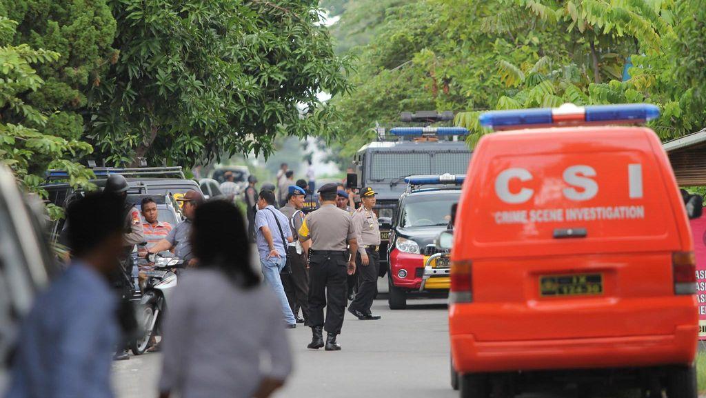 Kasus Terorisme, Densus Geledah Kamar Kos di Solo