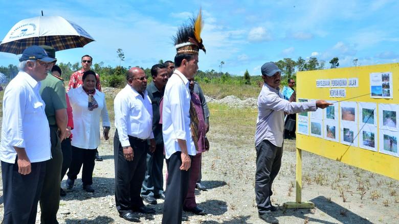 Jokowi, Presiden Pertama yang Datang ke Kenyam, Zona Merah Papua
