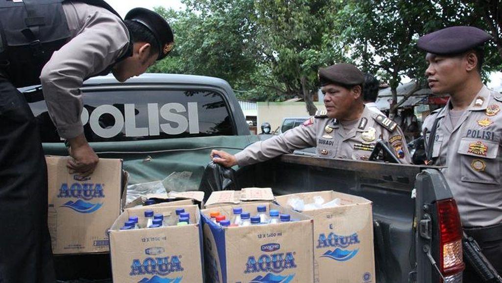 Tahun Baru di Semarang, Polisi Sita Miras dan Temukan Airsoft Gun