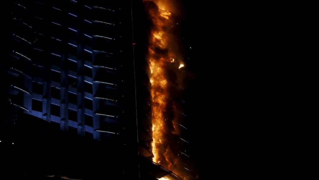 Kisah Fotografer yang Bergelantungan Menyelamatkan Diri dari Kebakaran di Dubai