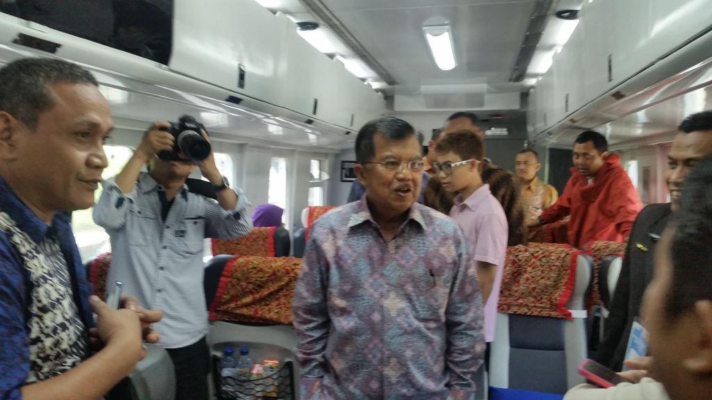 Soal WN China yang Ditangkap TNI AU, JK: Itu karena Kerja Tak Minta Izin
