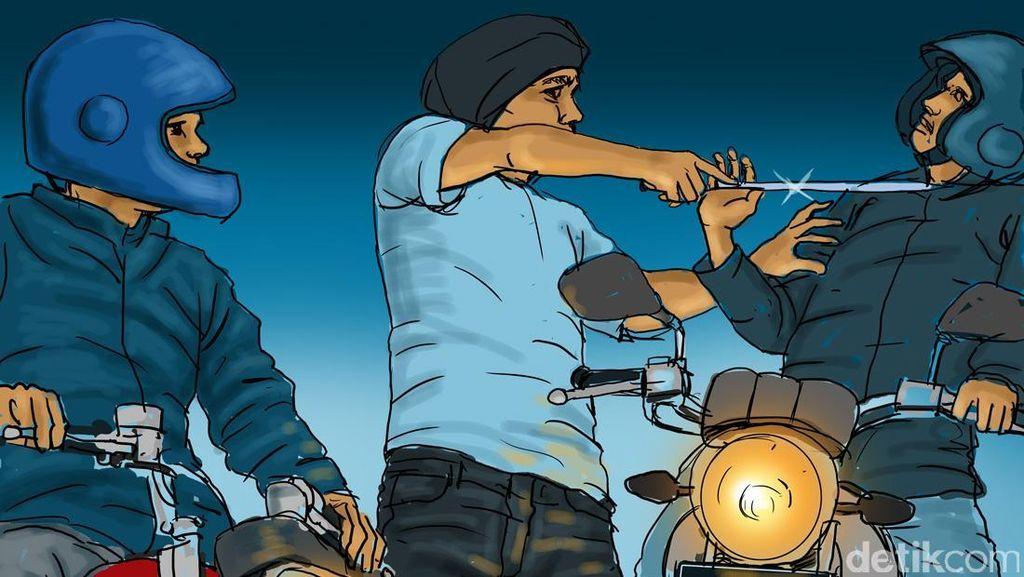 2 Pelaku Begal Tusuk dan Rampas Sepeda Motor Korbannya di Cikarang Utara