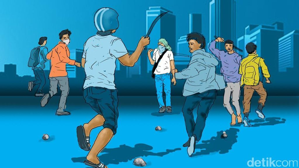 Bawa Parang dan Diduga Akan Tawuran, Seorang Bocah Diamankan Polisi