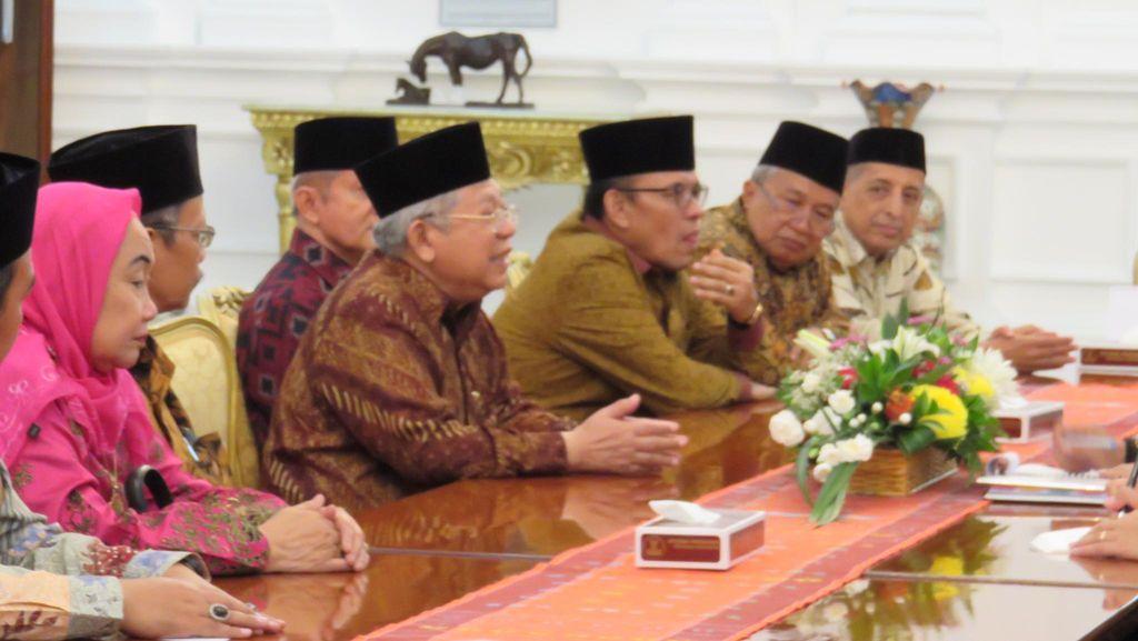 Temui Jokowi, MUI Usulkan Pemerintah Jadi Penengah Konflik Arab Saudi-Iran