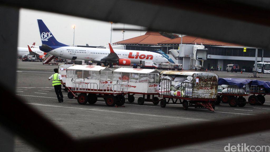 Mengintip Alur Bagasi Penumpang Lion Air