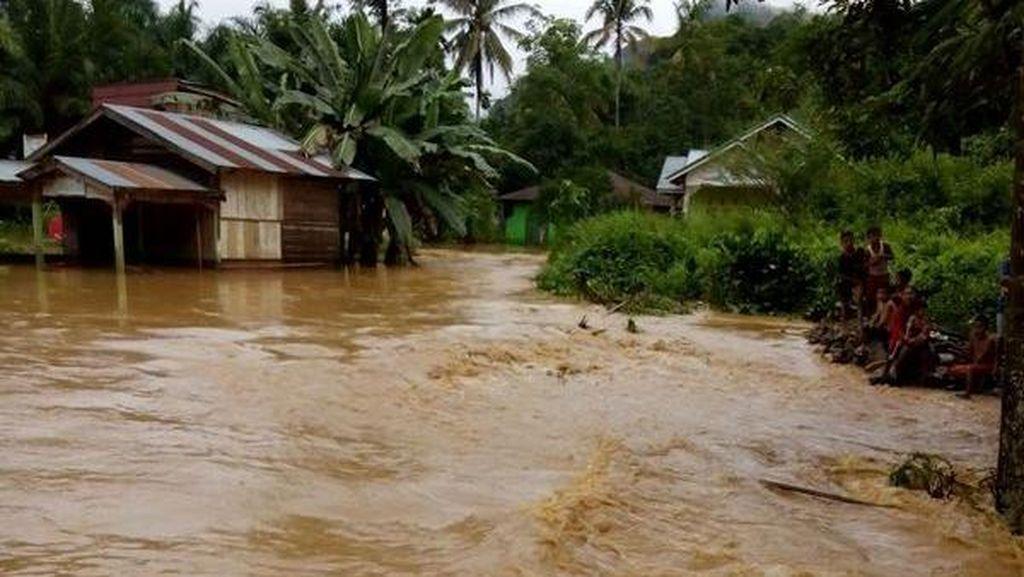 Banjir Bandang Hantam Kabupaten Hulu Sungai Tengah, Tidak Ada Korban
