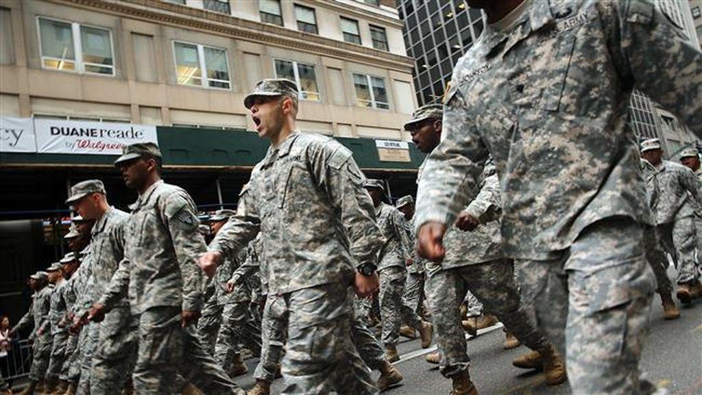 Bunuh Diri di Kalangan Militer AS Terus Meningkat