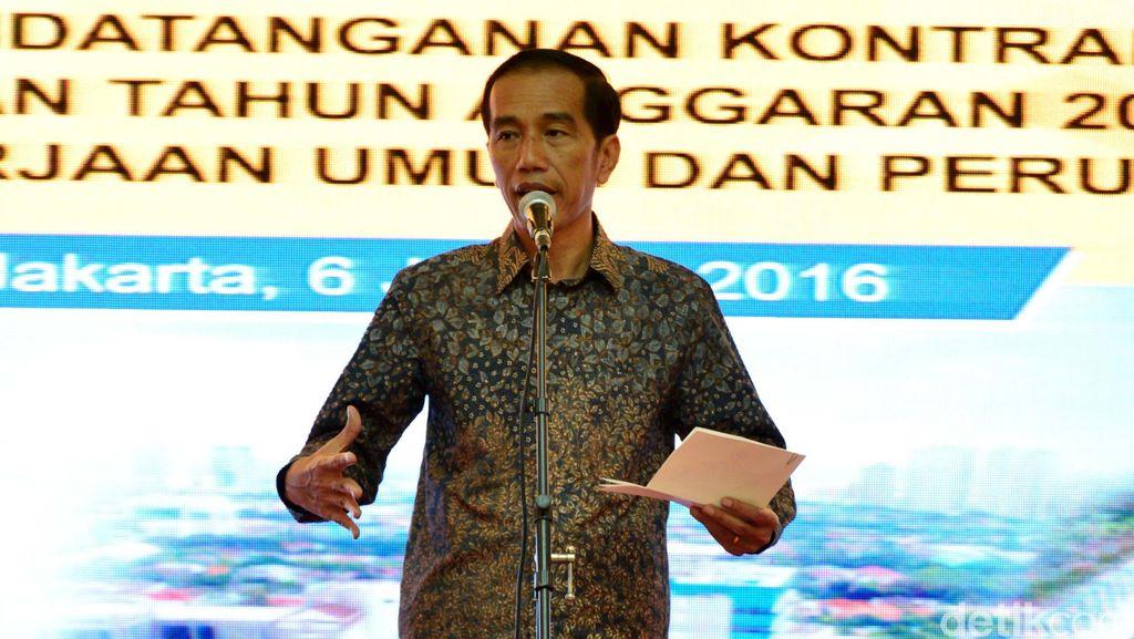 Jokowi Minta TNI-Polri Kawal Pembebasan Lahan dan Hapus Praktik Pungli