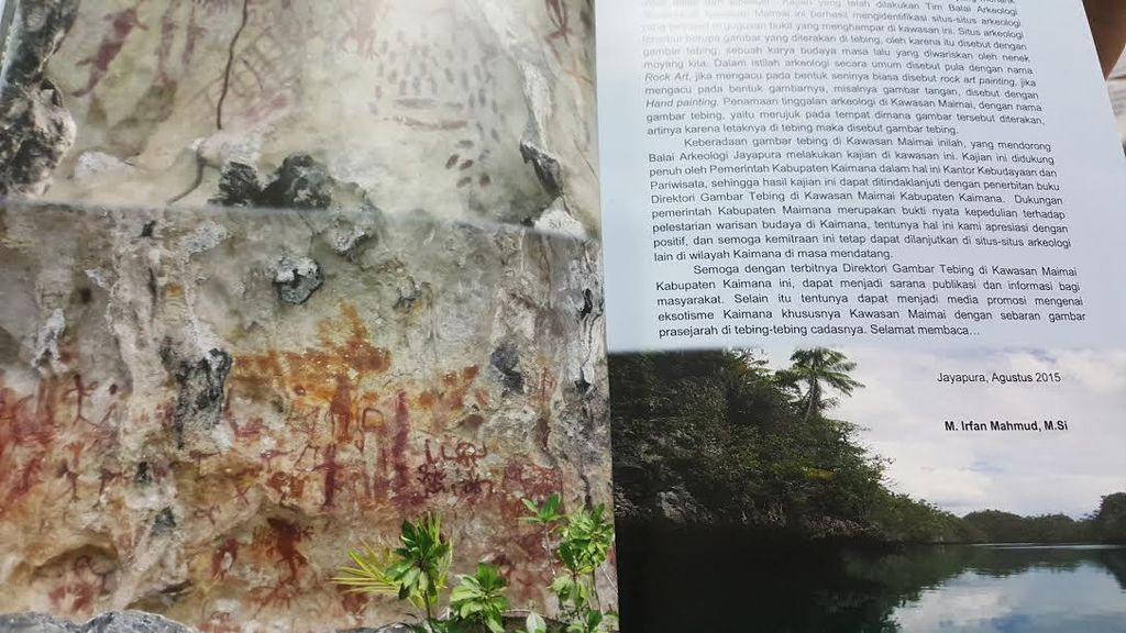 Menelisik Gambar Ribuan Tahun Jejak Nenek Moyang di Tebing di Kaimana Hingga Maros