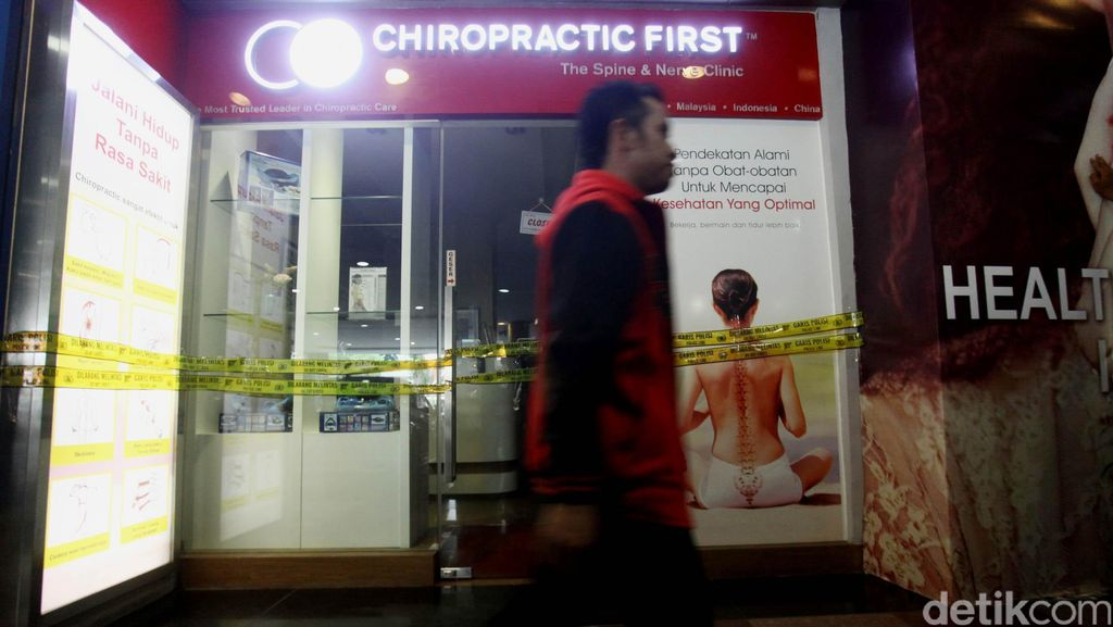 Polisi Cekal Randall Terkait Dugaan Malpraktik Chiropraktik