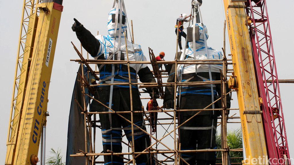 Alasan Angkasa Pura Pindahkan Patung Soekarno-Hatta di Bandara Cengkareng