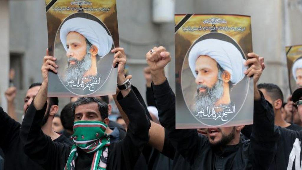 Arab Saudi Tangkap Pelempar Bom Molotov Saat Demo Eksekusi Ulama Syiah