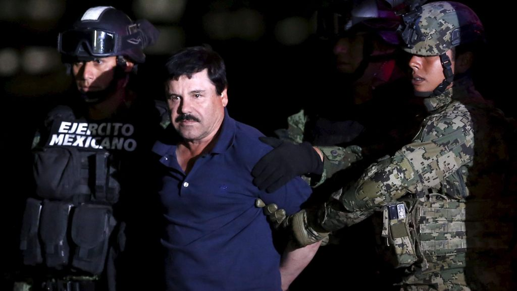 Meksiko Setujui Ekstradisi Bos Kartel Narkoba El Chapo ke AS