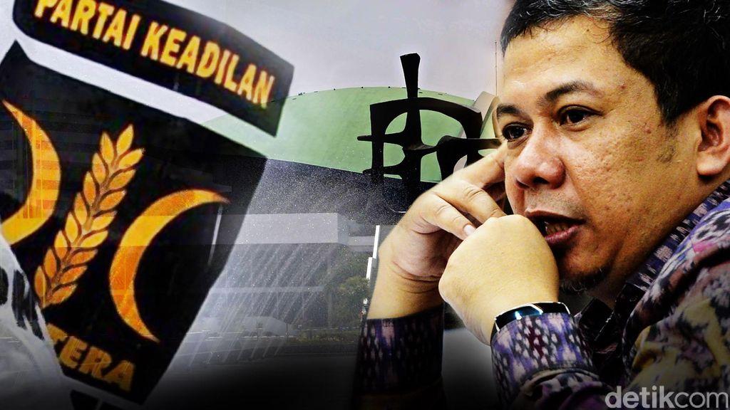 PKS: Fahri Hamzah Tinggal Menghitung Hari di DPR