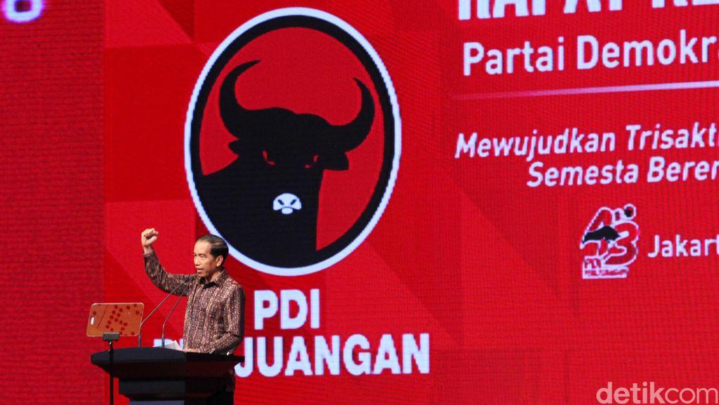 Golkar Siapkan Periode Kedua, PDIP: Jokowi Harus Fokus Jalankan Nawacita