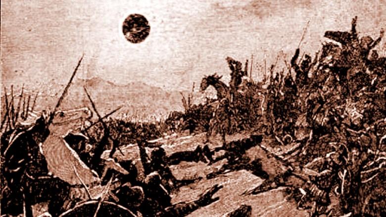 Perang Ini Langsung Berhenti Karena Gerhana Matahari