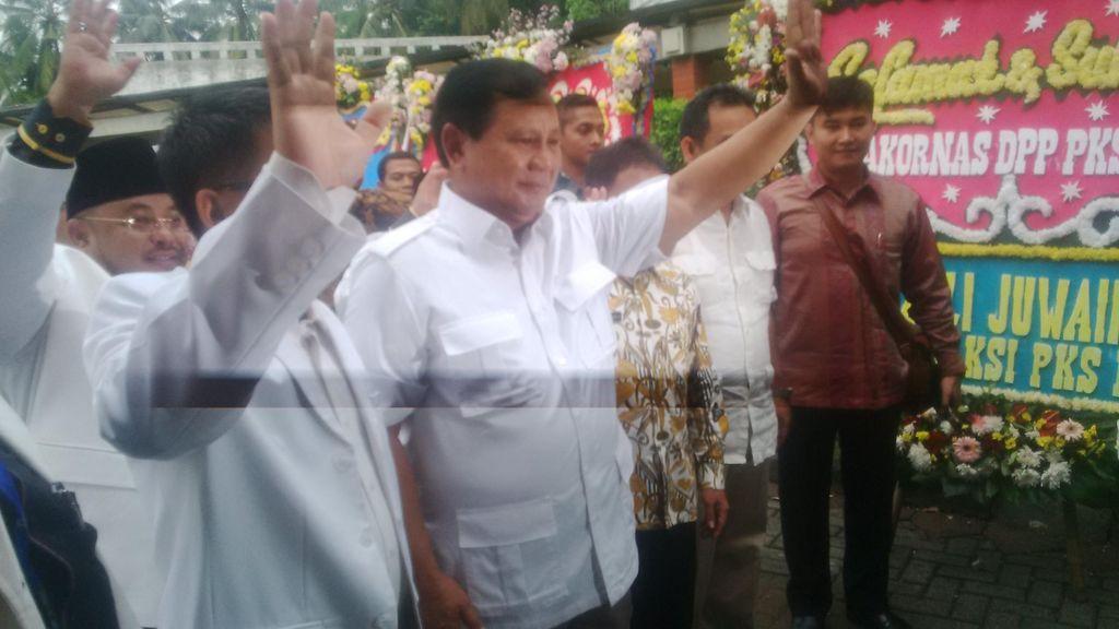 PDIP Ingin Hidupkan GBHN, Prabowo: Itu Gagasan Baik