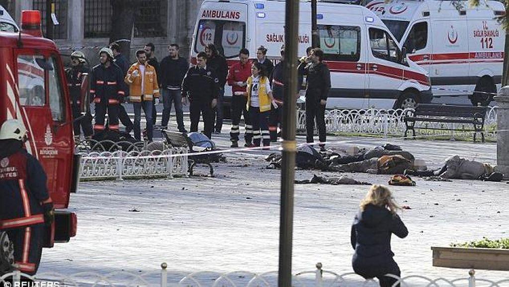 Ledakan di Dekat Hagia Sophia, Kemlu Cek Ada Tidaknya WNI Jadi Korban