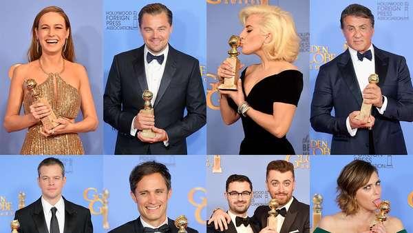 10 Foto Terheboh : Kemeriahan Golden Globe dan Gaya Rambut Nyentrik Nasar
