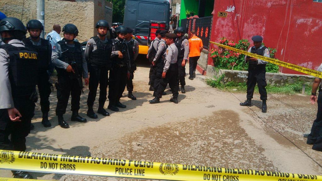 Kasus Terorisme, Polisi Gerebek Rumah di Kabupaten Bandung
