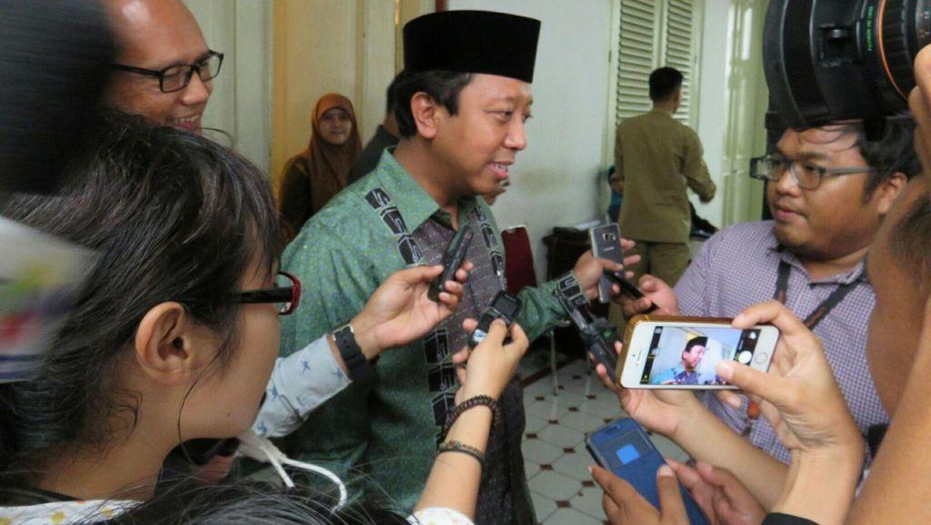 Romi dkk Temui Presiden Jokowi Bahas Persiapan Muktamar Islah