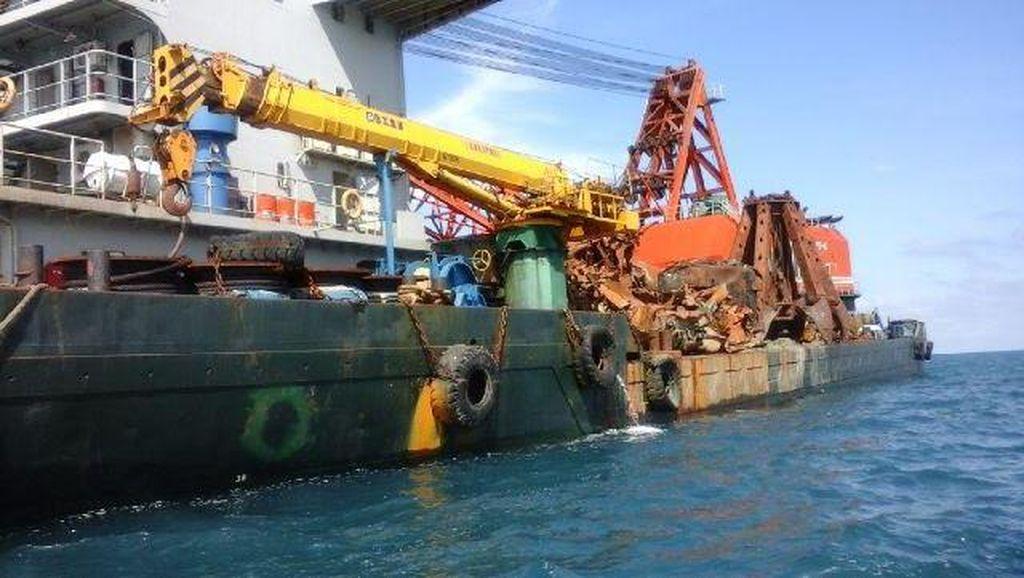 23 WN China ABK Kapal KBR Benoa Diamankan Polisi di Kepulauan Seribu