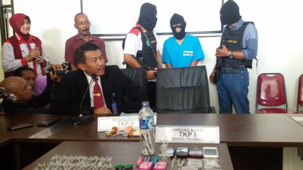 4 Pejabat Bank Ditangkap karena Pesta Sabu di Yogya
