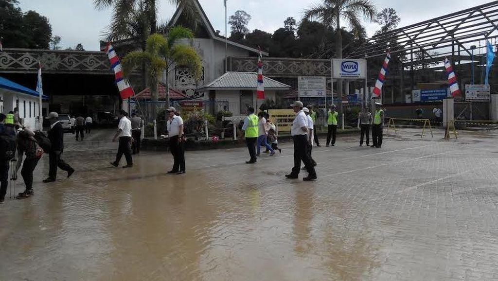 Melihat Rumah Terdepan Indonesia di Entikong, Perbatasan Malaysia yang Dipercantik
