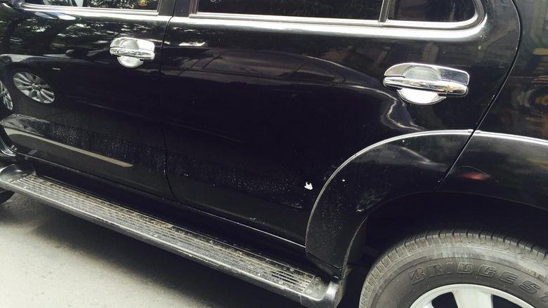 Ini Mobil Polisi yang Jadi Tameng Saat Baku Tembak dengan Teroris ISIS