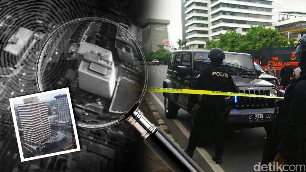 Terjebak Teror Bom Thamrin, Pria Australia Rasakan Gedung Bergetar