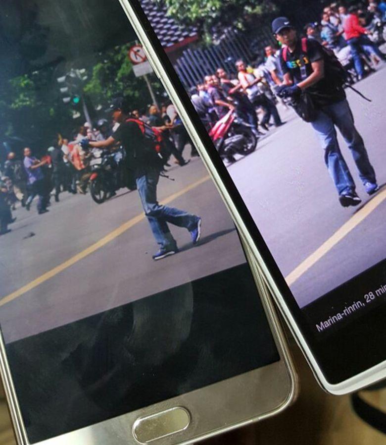Fotonya Tersebar, Ini Tampang Pelaku Teror Bom Thamrin Tenteng Pistol