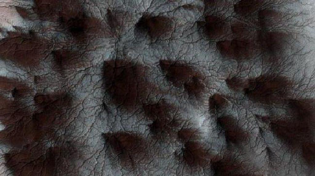 Menakjubkan! NASA Temukan Gambar Laba-laba di Planet Mars
