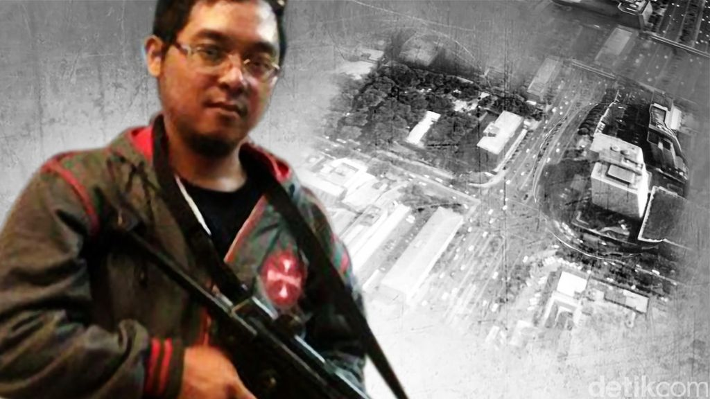 Divonis 5 Tahun Bui, Andika Pernah Bahas Serangan Thamrin dengan Bahrunnaim