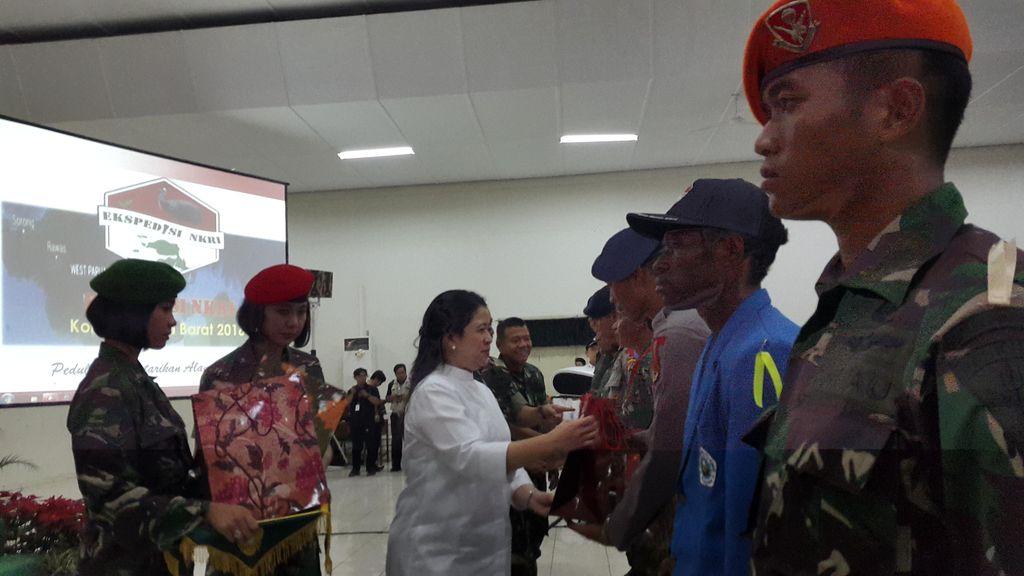 Pesan Menteri Puan untuk Peserta Ekspedisi NKRI Papua Barat 2016